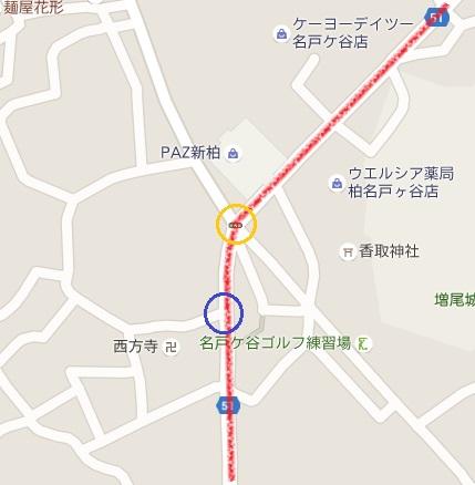 西方寺周辺マップ